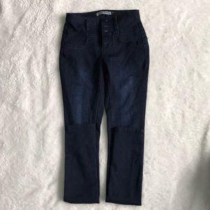 Woman's rue 21 high rise dark wash jeans